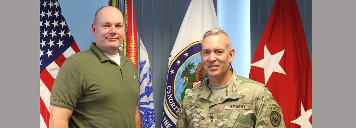 Deputy Assistant Secretary of Defense for Counternarcotics and Global Threats visits Joint Task Force North