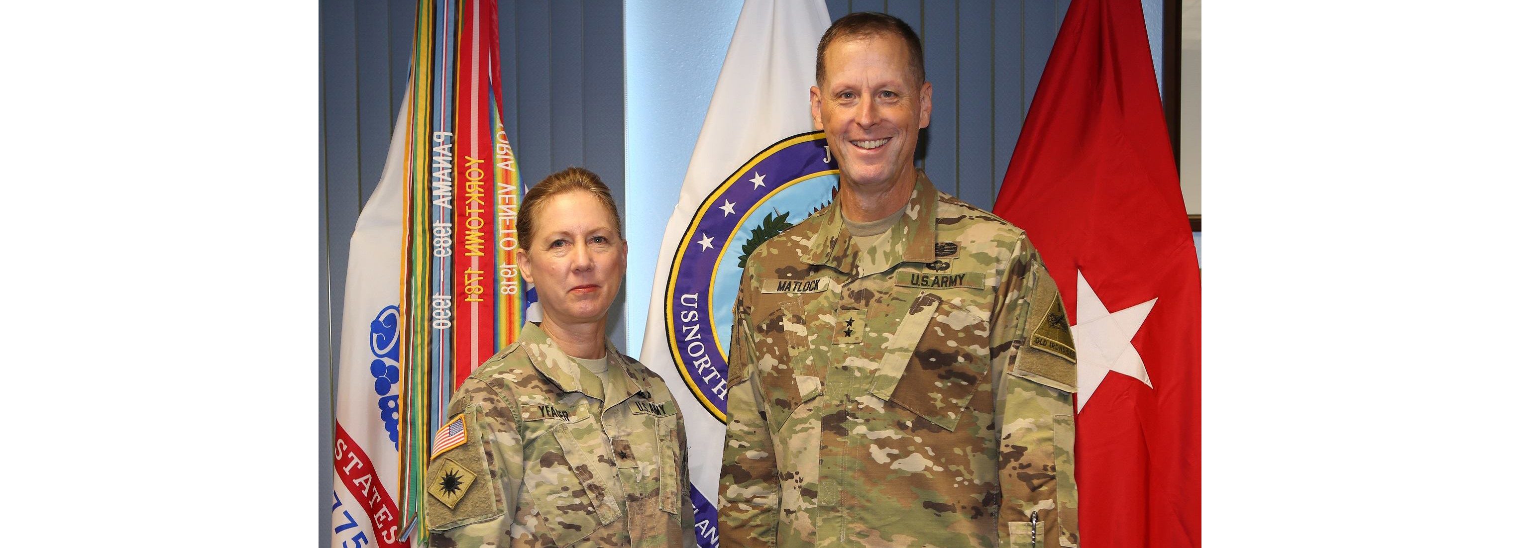 Yeager Welcomes 1AD, Fort Bliss Commander