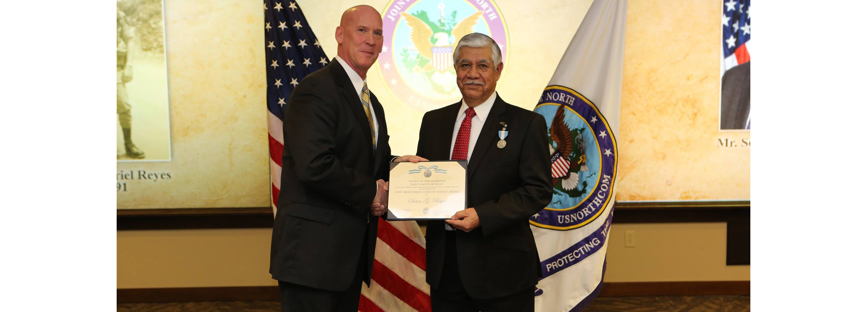 Reyes Retires After 50-Year Military, Civil Service Career